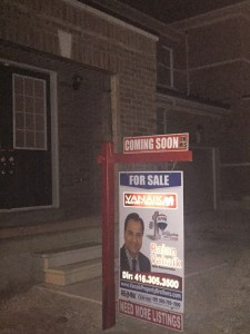 Very soon One more property will be up in the market. ( Mississauga Rd )